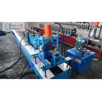 Quality Thick Roller Shutter Door Roll Forming Machine , 380V Rated Garage Door Roll Former wholesale