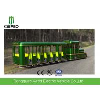 Quality 42 Seats Electric Trackless Train , Electric Tourist Train For Outside Recreation wholesale