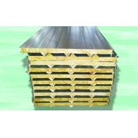 Buy cheap Color Sheet Sandwich Panel Making Machine For Mineral Wool Board 28kw from wholesalers