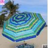 Buy cheap Windproof Sunshade Parasol Beach Umbrella Custom Size 2.4m / 2.5m from wholesalers