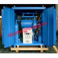 China Transformer Oil Filtration Machine, Insulation Oil Polishing System,Vacuum Oil Flushing Machine with enclosure on sale