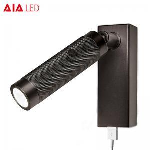 China Surface mounted reading wall light/flexible bedside wall light/reading light usb/bed wall light on sale