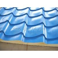 Quality Color Steel Polyurethane (PU) Sandwich Panel (Roof Panel) wholesale