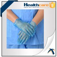 Quality AQL1.5 PVC Disposable Hand Gloves ,  Powder Free Vinyl Medical Gloves wholesale
