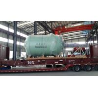 Buy cheap 20000L Glass Lined Reactor Close type Pained With 1 Red Base Coat , 1 Grass Green Top Coat product