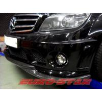 China GODHAND CARBON FIBER FRONT LIP SPOILER FOR 2008-2011 MERCEDES BENZ W204 C63 4D on sale