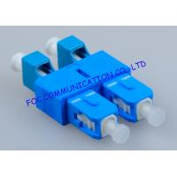 Quality Hybrid SC - LC Fiber Optic Adapter , Telecom Network Male To Female Adapter wholesale