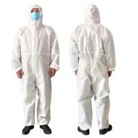 Quality Airy Disposable Protective Clothing For Clean Room / Pharmaceutical Industry wholesale