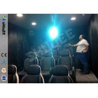 Quality 9 Seats Mobile Movie Theater Black With Metal Flat Screen wholesale