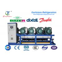 Quality Meat Cold Room Compressor Unit Single Stage Energy Controlling System wholesale