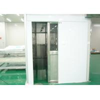 Quality S SERIES Personnel Entry Cleanroom Air Shower With 22-25m/S Wind Speed wholesale