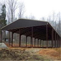 Cheap farm metal roof storage shed kxd ssb1176 steel for Cheap metal sheds