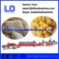China Jinan Co-extruder Puffs Snacks Food processing equipment on sale