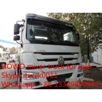 Buy cheap SINO TRUK HOWO  High Efficient 6x4 high capacity concrete mixer trucks for sale product