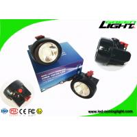 Buy cheap Waterproof Cordless Mining Cap Lamp 1 Watt Rechargeable 2.8Ah Battery Capacity from wholesalers