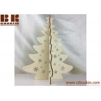 China Artificial Christmas tree Stand Ornaments Party Decoration wooden gift on sale
