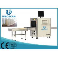 Quality 24 Bit Deep X Ray Baggage Scanner Airport Baggage Scanner With 80 Degree Generate Angle wholesale