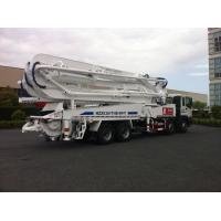 47m Concrete Pump Trucks 8x4 / Cement Pumping Equipment With Cooling system
