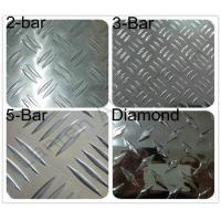 Cheap Decorative flooring / table / tank 3003 Checkered Aluminum Sheets Mill Finished for sale