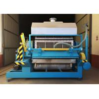 Quality Recycled Paper Egg Tray Making Machine With Large Capacity Easy Operated wholesale