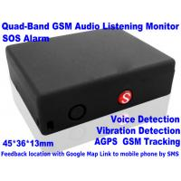 Quality Global Indoor Outdoor GSM LBS Tracker Spy Audio Listening Bug W/ SOS Alarm & 2-Way Calling wholesale