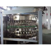 China Automatic Rotary Bottle Filling Machine , PET / Glass Bottle Production Line on sale