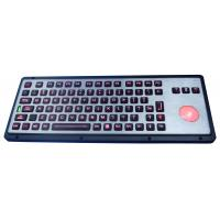 Buy cheap Robust IP65 Backlit Industrial Keyboard With Trackball from wholesalers