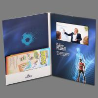 China Personalized Flip Book Video Print Card With 3.5 Inch -10.1 Inch Screen on sale