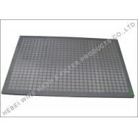 Quality Kemtron / Elgin Shale Shaker Steel Frame Screen Oblong Opening Wire Cloth wholesale