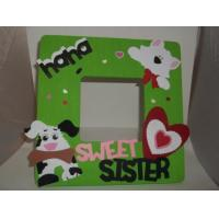 Quality 2015 Customized hand made kids Wood Picture Frame/ wooden photo frame wholesale
