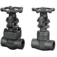 Quality Cast Iron Clamp forged steel gate valve , NPT Threaded End Connect wholesale