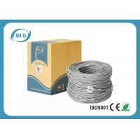 Twisted Pairs Cat6 Lan Cable , 1000ft Shielded FTP Lan Cable With 5.8mm PVC Jacket