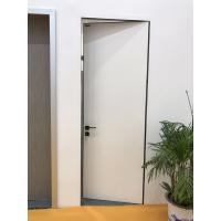 Quality Modern Desgin White Color Aluminum HPL Frameless Door with  Italy Style wholesale