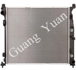 Quality Hard Brazing Aluminum Mercedes Benz Radiator Replacement High Performance DPI 13505 wholesale