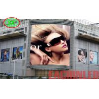 China Waterproof Outdoor Advertising Led Display P6 27778 Dots / Sqm Pixel Density on sale