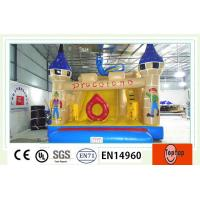 Quality Portable commercial Inflatable Dry Slides , bounce house water slides for Children wholesale