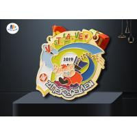 Quality Personlized Metal Award Medals Colorful Filled Medailles 88.9*3MM wholesale