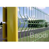 Euro Guard PVC Coated Welded Wire Fence Simple Structure V Shaped For New Pattern Farm