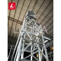 Buy cheap Aluminum Alloy 6082 Roof Truss Line Array Sound Speaker Tower System from wholesalers