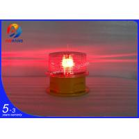 Quality LED solar powered aircraft obstacle light/aviation warning light/aircraft navigation lighting wholesale