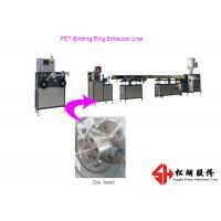 High Strength PET PVC Binding Spring Ring Plastic Strip Making Machine 15-25 kg/hr Capacity