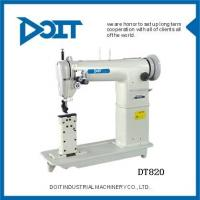 China Post Bed Twin-Needle Heavy Duty Lockstitch Industrial Sewing Machine (DT820) on sale