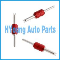 China Red Valve Stem Core Remover Car Truck Tire Repair Install/Remove Tool Dual Head on sale