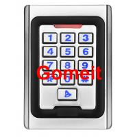 Quality Metal Keypad Stand Alone Proximity Card Reader , IP68 Waterproof Stand Alone Door Access wholesale