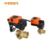 Quality 2 Way Hvac System Fan Coil Flow Control Valve For VRV Heat Pump Heating System wholesale