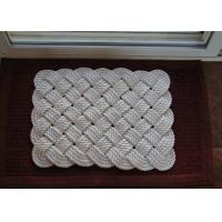 Quality polyester 3-strand twist rope code used to anti-slip door chafing mat wholesale