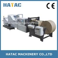 China Automatic Handle Paper Bag Making Machine,Shopping Paper Bag Making Machine,Kraft Paper Bag Making Machine on sale