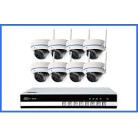 Quality Indoor Dome Wireless Ip CCTV Camera Kits 8PCS For Home / Store Onvif wholesale