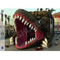 Quality Removable Dinosaur Cabin 6D Movie Theater Motion Ride Hydraulic / Electric System wholesale