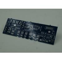Quality Blue FR4 PCB Printed Circuit Board Immersion Silver Finish White Silkscreen wholesale
